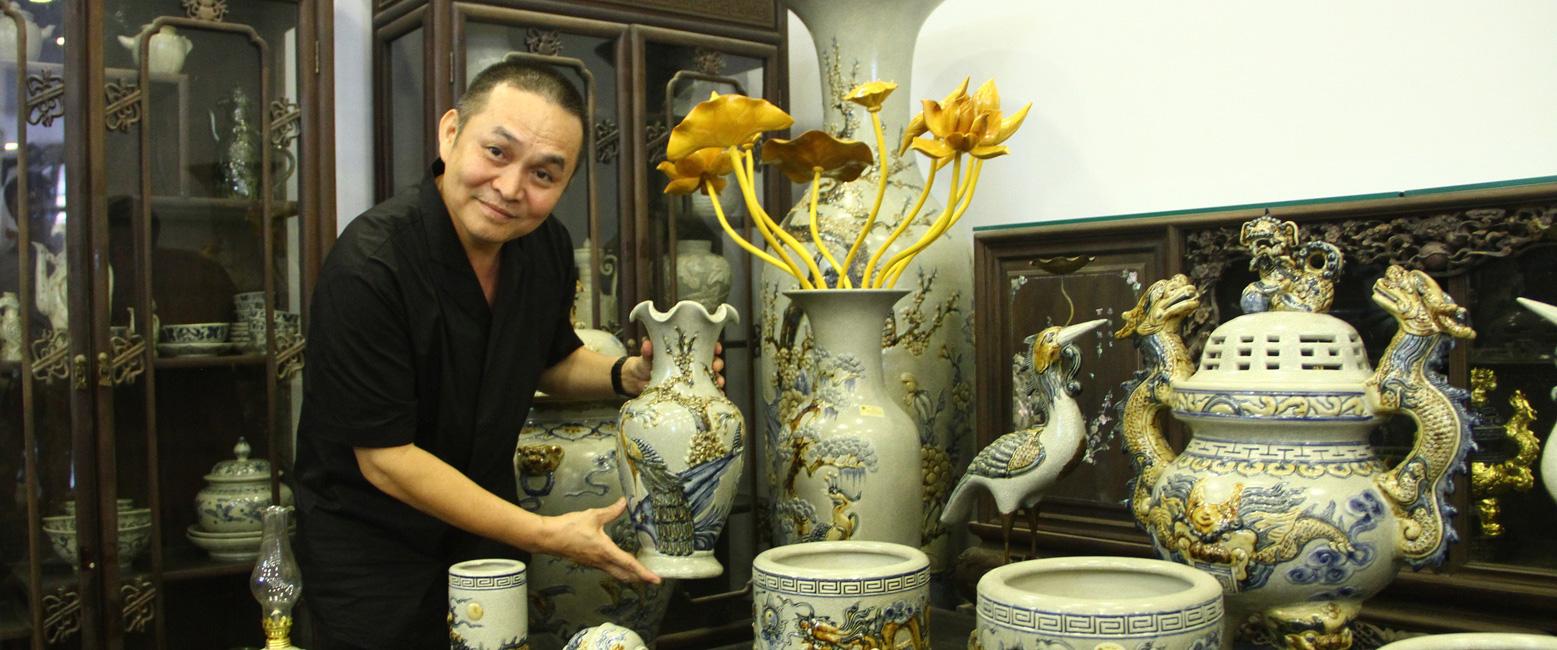 Nghệ sĩ ưu tú Xuân Hinh nói về Gốm Gia Tộc Việt