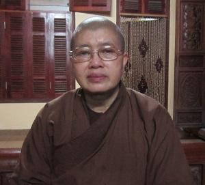 Trụ trì chùa Bồ Đề Sư Đàm Lan